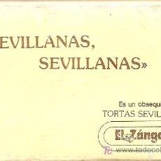 Casetes antiguos: SEVILLANAS SEVILLANAS ARCO IRIS CASETE PUBLICIDAD TORTAS SEVILLANAS EL ZANGANO. Lote 10356950