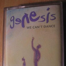 Casetes antiguos: GENESIS WE CAN'T DANCE. Lote 7770287