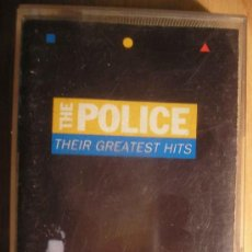 Casetes antiguos: THE POLICE: THEIR GREATEST HITS. Lote 7770426