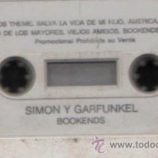 Casetes antiguos: SIMON Y GARFUNKEL BOOKENDS. Lote 9393075