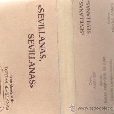 Casetes antiguos: SEVILLANAS, SEVILLANAS. EL ZANGANO (CASE- 1960). Lote 9476613