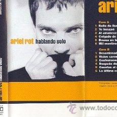 Casetes antiguos: ARIEL ROT CASSETTE ORIGINAL HABLANDO SOLO 1987 DRO. Lote 11237741