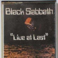 Casetes antiguos - BLACK SABBATH - LIVE AT LAST - CASETTE ORG. - 17771048