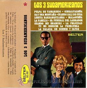 CASETE LOS 3 SUDAMERICANOS (Música - Casetes)