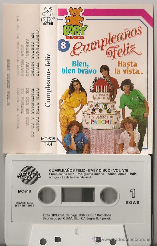 Parchis Cumpleanos Feliz Raro Cassette Baby D Sold Through