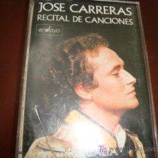Casetes antiguos: JOSE CARRERAS. Lote 14094835