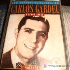 Casetes antiguos: CASETE, CARLOS GARDEN, BUENOS AIRES, VOLUMEN 3, RECUERDO MALEVO, DANDY , MELODIA DE ARRABAL. Lote 14099280