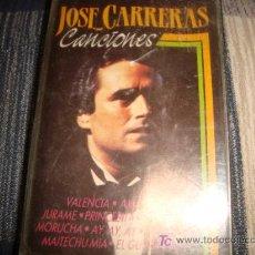 Casetes antiguos: CASETE, JOSE CARRERAS, CANCIONES. Lote 14099329