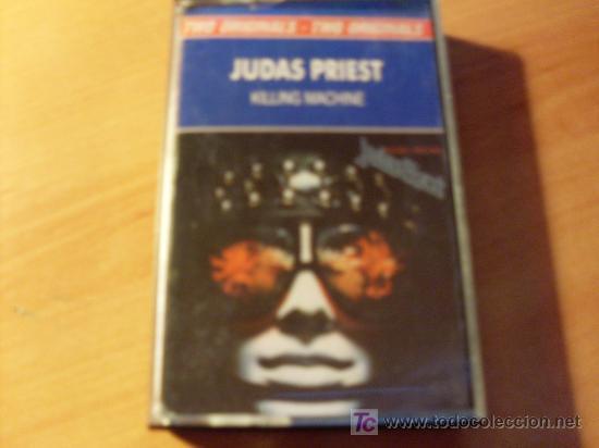 JUDAS PRIEST (KILLING MACHINE ). CASETE (Música - Casetes)