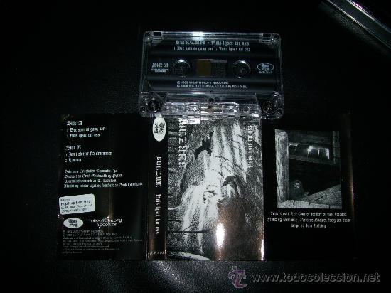 CASETE - BURZUM – HVIS LYSET TAR OSS – MALASYAN EDITION - BLACK METAL (Música - Casetes)
