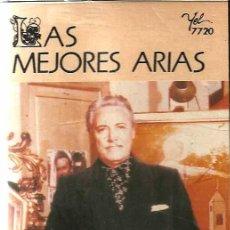 Casetes antiguos: MARIO DEL MÓNACO / LAS MEJORES ARIAS. Lote 26760033