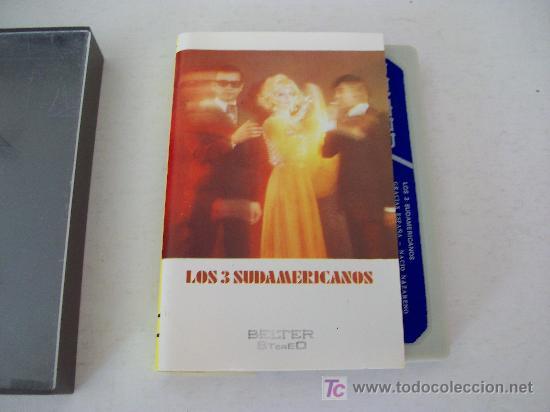 LOS 3 SUDAMERICANOS (Música - Casetes)