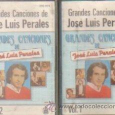 Casetes antiguos: GRANDES CANCIONES DE JOSE LUIS PERALES 2 CASETES. Lote 206925693