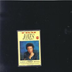 Casetes antiguos: TOM JONES HITS. Lote 20774699