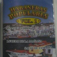 Casetes antiguos: CASETE-HABANERAS POPULARES VOL.1--NUEVO PRECINTADO Y DESCATALOGADO. Lote 21425323