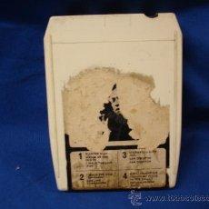 Casetes antiguos: - JOHNNY CASH AT SAN QUENTIN - CARTUCHO MULTI-PISTAS - CBS MADE IN ENGLAND 1969. Lote 21786101