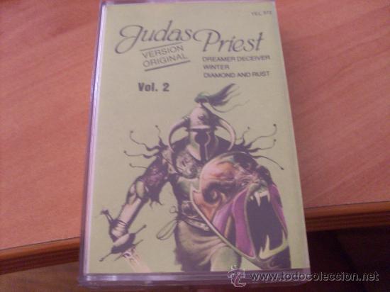 JUDAS PRIEST ( HERO , HERO VOL 2 ) (CAS4) (Música - Casetes)