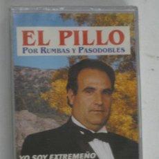 Cassetes antigas: CASETE-EL PILLO,RUMBAS Y PASODOBLES,YO SOY EXTREMEÑO,ETC-NUEVO-PRECINTADO-MUY RARO. Lote 27464456