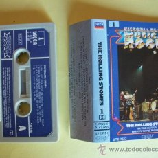 Casetes antiguos: ROLLING STONES HISTORIA DE LA MUSICA ROCK CASETE. Lote 27464131