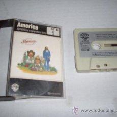 Casetes antiguos: AMERICA GRANDES EXITOS WARNER 1982. Lote 23854517