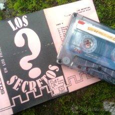 Cassettes Anciennes: LOS SECRETOS - ... EN LOS PRIMEROS DÍAS (EL LEGADO INTIMO, 1992) - INCLUYE EL MATERIAL DE TOS - VER. Lote 42100990
