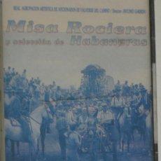 Casetes antiguos: CASETE MISA ROCIERA Y SELECCIÓN DE HABANERAS-R.AGRUPACION AFICCIONADOS DE VALVERDE DEL CAMINO-NUEVO-. Lote 24391898