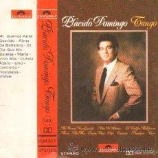 Casetes antiguos: TANGO PLACIDO DOMINGO . Lote 24961085