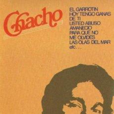 Casetes antiguos: CHACHO Y SUS RUMBAS - 1977 (NUEVO). Lote 30978336