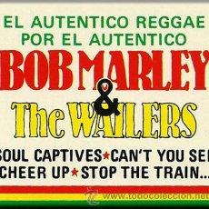 Casetes antiguos: BOB MARLEY & THE WAILERS -- EL AUTÉNTICO REGGAE. Lote 25412929