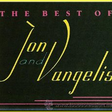 Casetes antiguos: JON & VANGELIS --- THE BEST OF JON AND VANGELIS. Lote 25415843