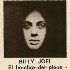 Casetes antiguos: BILLY JOEL. --- EL HOMBRE DEL PIANO. Lote 34464626
