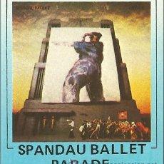 Casetes antiguos: SPANDAU BALLET --- PARADE. Lote 25420373