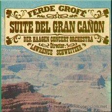 Casetes antiguos: SUITE DEL GRAN CAÑÓN, POR DER HAAGEN CONCERT ORCHESTRA. Lote 25426497