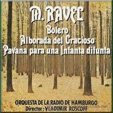 Casetes antiguos: BOLERO, DE RAVEL, POR LA ORQUESTA DE LA RADIO DE HAMBURGO. Lote 25426729