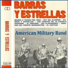 Casetes antiguos: BARRAS Y ESTRELLAS --- 8 MARCHAS MILITARES NORTEAMERICANAS DE SOUSA. Lote 25427599