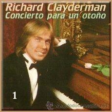 Casetes antiguos: RICHARD CLAYDERMAN --- CONCIERTO PARA UN OTOÑO (2 CASETES). Lote 25425217