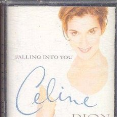 Casetes antiguos: FALLING INTO YOU - CELINE DION. Lote 26248529