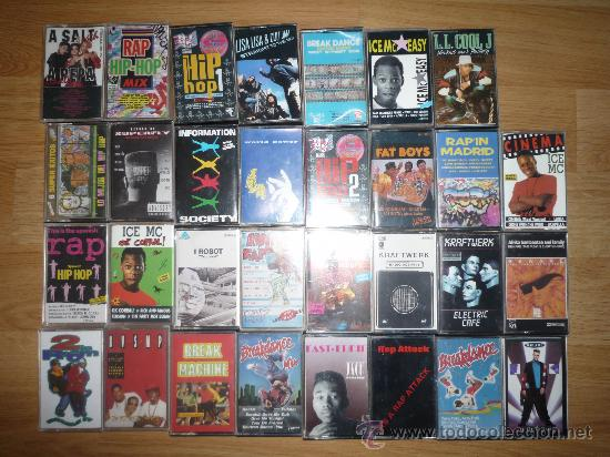 LOTE CASETES - CASSETTES - CASSETES - AÑOS 80 - 90 / HIP HOP - RAP - BREAKDANCE - ELECTRO - KRAFTWER (Música - Casetes)