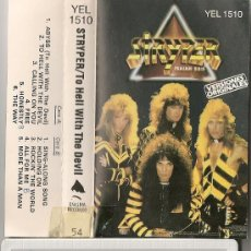 STRYPER - TO HELL WITH THE DEVIL (CASSETTE ESPAÑOL)