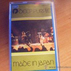 Casetes antiguos: DEEP PURPLE ( MADE IN JAPAN ) CASETE ESPAÑA ( CAS6) . Lote 27030962