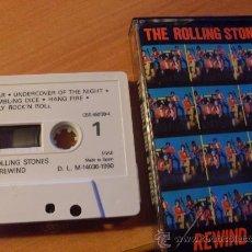 Casetes antiguos: ROLLING STONES ( REWIND 1971 - 1984 ) CASETE ( CAS6). Lote 27096095