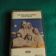 Casetes antiguos: THE ROLLING STONE SOLID ROCK. Lote 27115730
