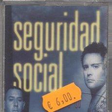 Casetes antiguos: SEGURIDAD SOCIAL,VOY A POR TI DEL 2000. Lote 27754550