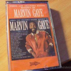 Casetes antiguos: MARVIN GAYE ( GRANDES EXITOS ) CASETE (CAS6). Lote 28157363