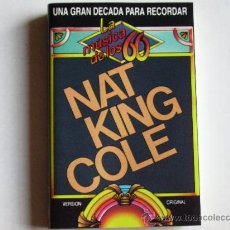 Casetes antiguos: NAT KING COLE. Lote 28164342