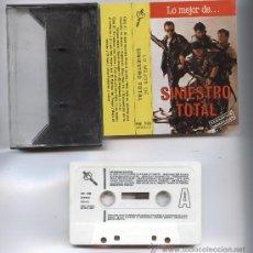 Casetes antiguos: SINIESTRO TOTAL_LO MEJOR DE..._DRO CINTA DE CASSETTE EDICION ESPAÑOLA 1987 . Lote 28393975