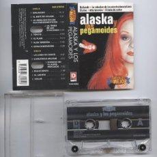 Casetes antiguos: ALASKA Y LOS PEGAMOIDES_SIMPLEMENTE LO MEJOR_CASSETTE RECOPILACION EDICION HOLANDESA_1997 COMO NUEVA. Lote 28620337