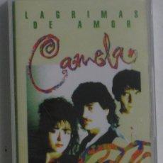 Casetes antiguos: CASETE CAMELA LAGRIMAS DE AMOR NUEVA Y PRECINTADA. Lote 170915897