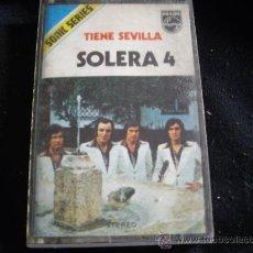 Cassetes antigas: SOLERA 4-TIENE SEVILLA. Lote 30506526