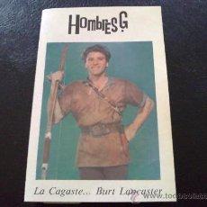 Casetes antiguos: HOMBRES G - LA CAGASTE BURT LANCASTER. Lote 31270127